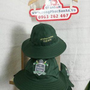 May nón tai bèo thanh niên đồng phục trường TUỆ ĐỨC 01