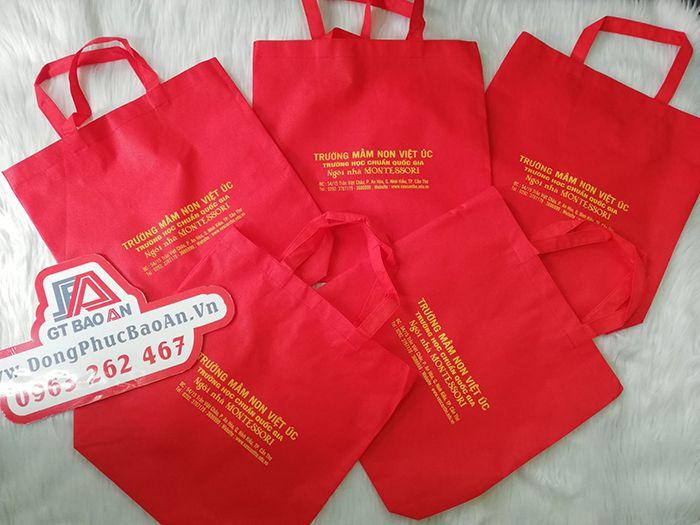 Túi vải quà tặng trường mầm non Việt Úc 02