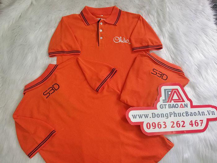 Xưởng may áo thun giá tận gốc - Áo Thun Chào S3D 03