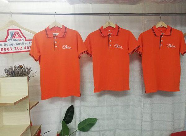 Xưởng may áo thun giá tận gốc - Áo Thun Chào S3D 05