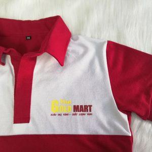 Áo thun - Nón kết đồng phục siêu thị The Gold Mart 03