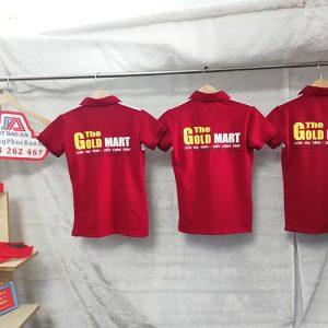 Áo thun - Nón kết đồng phục siêu thị The Gold Mart 04