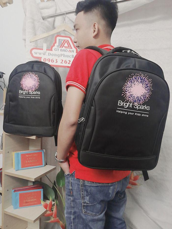 Balo quà tặng doanh nghiệp, công ty - Bright Sparks 04