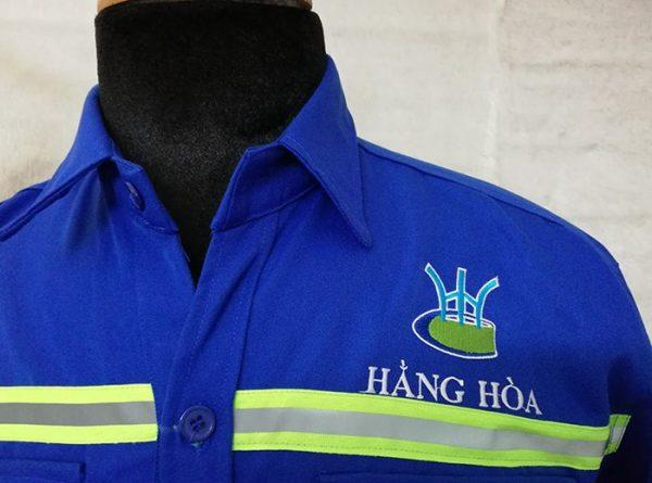 Bộ đồ bảo hộ lao động cho kỹ sư Công ty Hằng Hòa 05