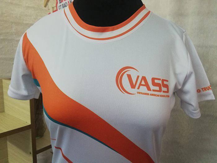 Đặt may sỉ áo thun đồng phục công ty cổ tròn VASS 01