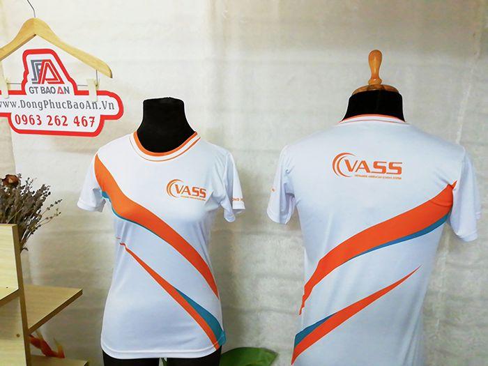 Đặt may sỉ áo thun đồng phục công ty cổ tròn VASS 02
