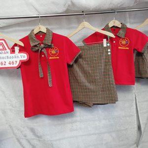 Đồng phục mầm non trường Ánh Dương - Mẫu áo quần đẹp 03