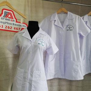 May áo blouse công ty chế biến Cafe - Tập Đoàn Quốc Tế Mỹ Việt 04
