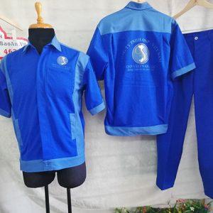 Quần áo bảo hộ công ty sản xuất gỗ ONP Việt Nam 01