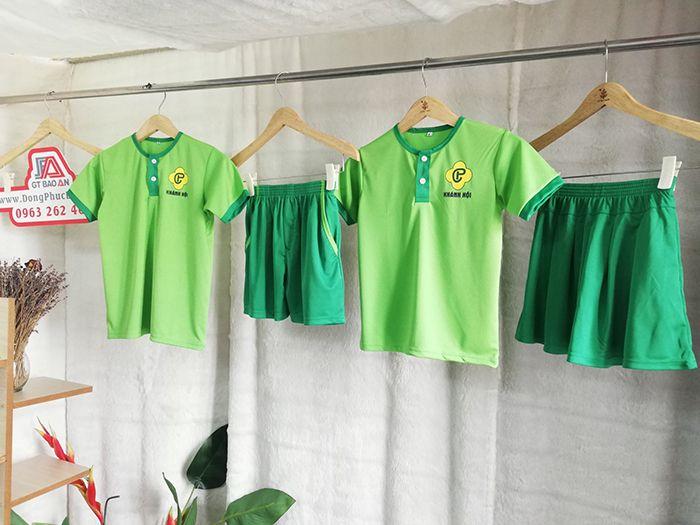 Xưởng may đồng phục học sinh giá rẻ - Trường mầm non Phương Chi 2