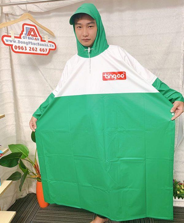 Xưởng sản xuất áo mưa công ty - Làm áo mưa quà tặng giá rẻ 01