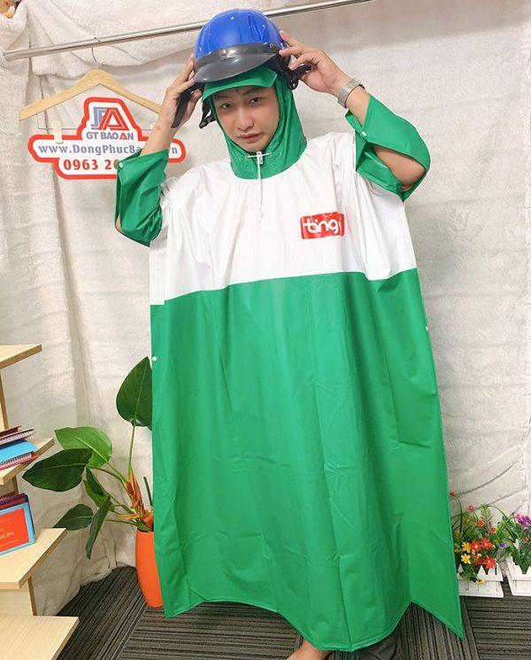 Xưởng sản xuất áo mưa công ty - Làm áo mưa quà tặng giá rẻ 02