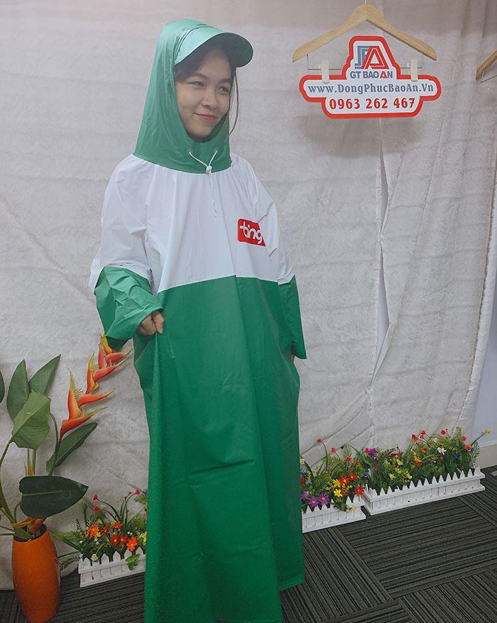 Xưởng sản xuất áo mưa công ty - Làm áo mưa quà tặng giá rẻ 04