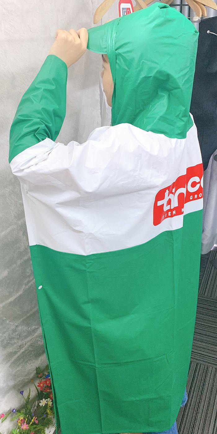 Xưởng sản xuất áo mưa công ty - Làm áo mưa quà tặng giá rẻ 06