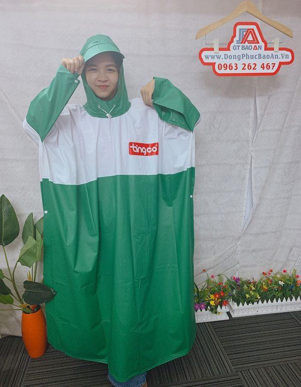 Xưởng sản xuất áo mưa công ty - Làm áo mưa quà tặng giá rẻ 07