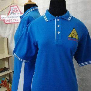 Áo thun cổ bẻ đồng phục cao cấp công ty Ha Lan Tech 02