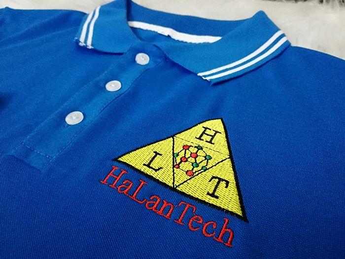 Áo thun cổ bẻ đồng phục cao cấp công ty Ha Lan Tech 05
