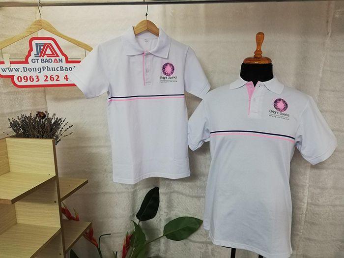 Áo thun đồng phục công ty Bright Sparks 01