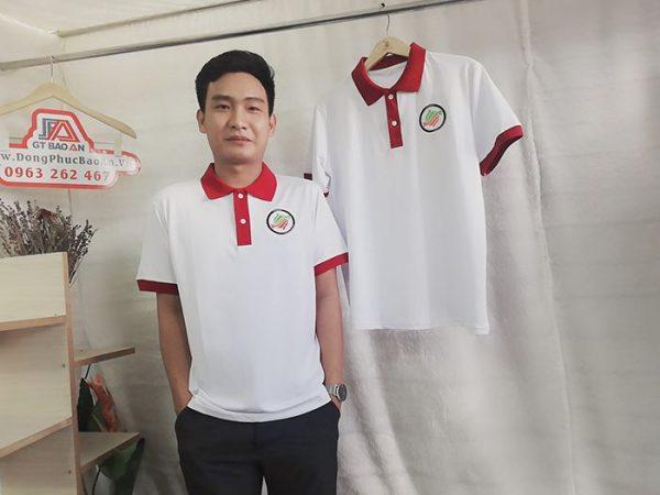 Áo thun Polo cổ trụ đồng phục nhà hàng Nhật 3RI I-CHI SUSHI 02