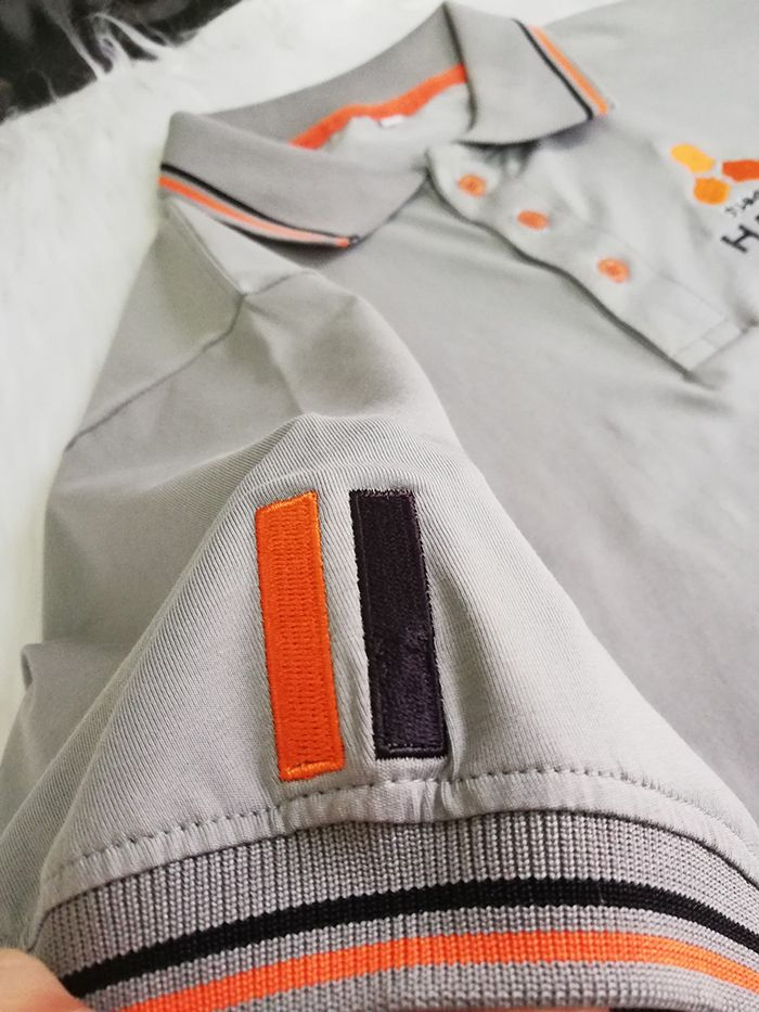 Áo thun Polo đồng phục công ty xe máy 50cc - Halim 05