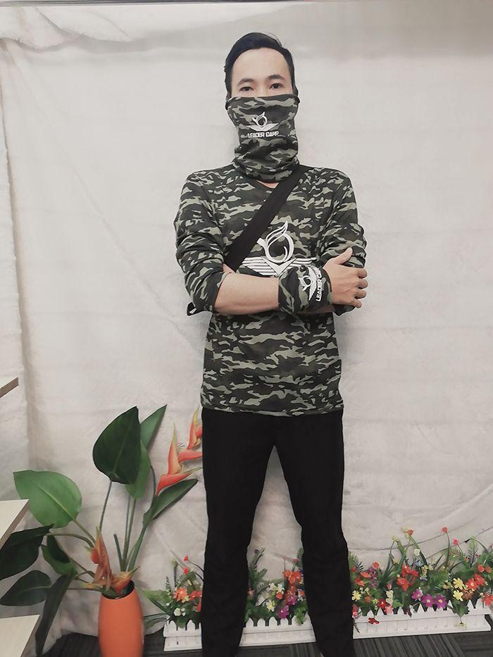 Áo thun rằn ri, áo thun phượt, áo thun team building Leader Camp 01