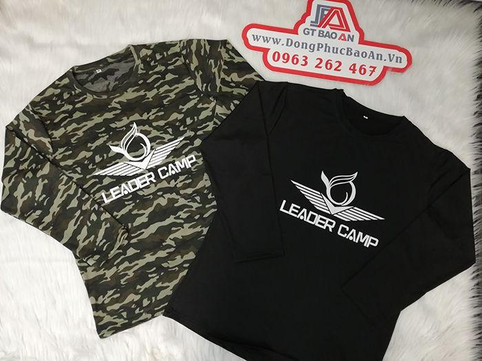 Áo thun rằn ri, áo thun phượt, áo thun team building Leader Camp 03