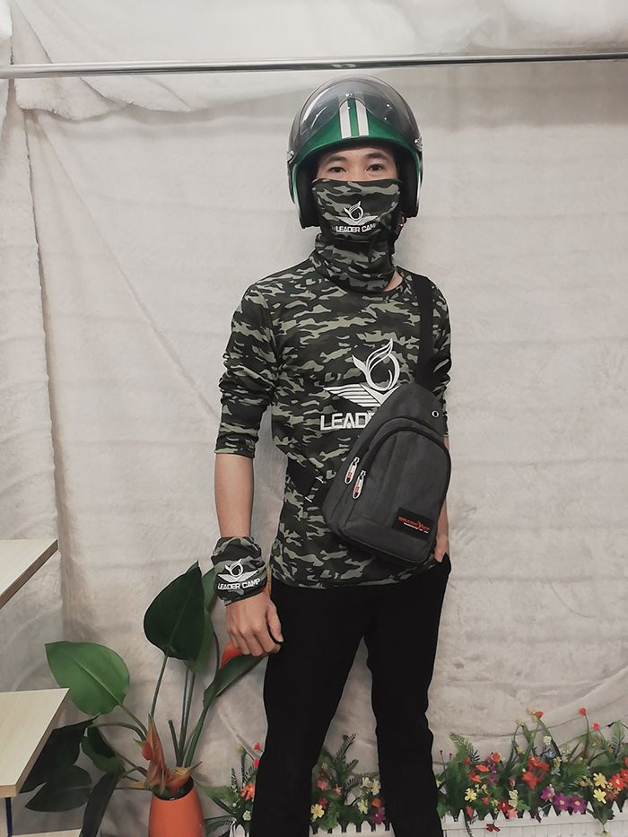 Áo thun rằn ri, áo thun phượt, áo thun team building Leader Camp 04