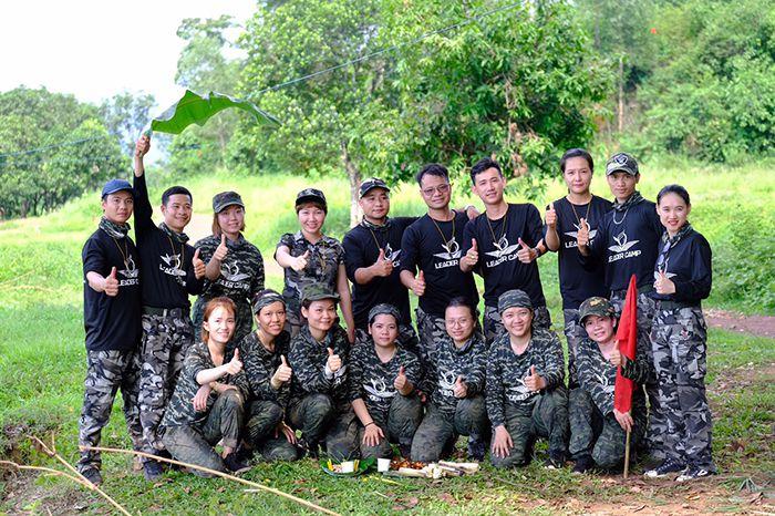 Áo thun rằn ri, áo thun phượt, áo thun team building Leader Camp 06