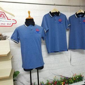 Áo thun vải cá sấu kiểu cổ trụ công ty Đỗ Gia Phúc 01