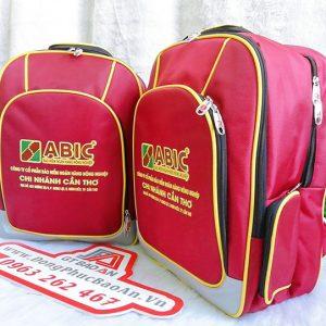 Balo quà tặng doanh nghiệp đẹp cao cấp Abic Cần Thơ 01