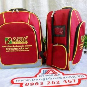 Balo quà tặng doanh nghiệp đẹp cao cấp Abic Cần Thơ 02