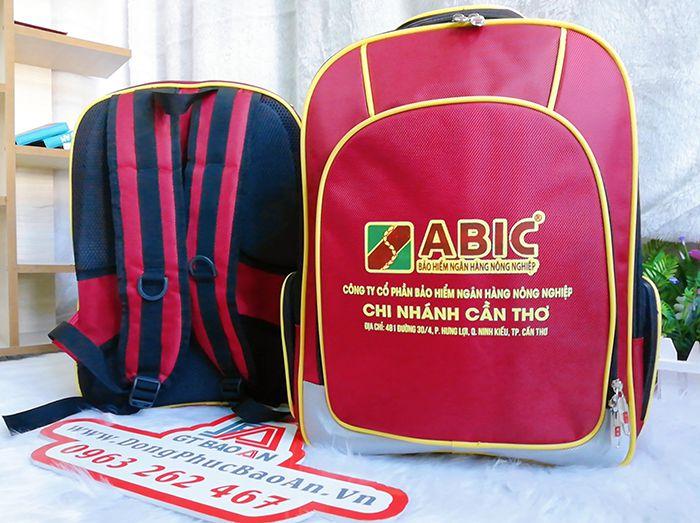 Balo quà tặng doanh nghiệp đẹp cao cấp Abic Cần Thơ 04