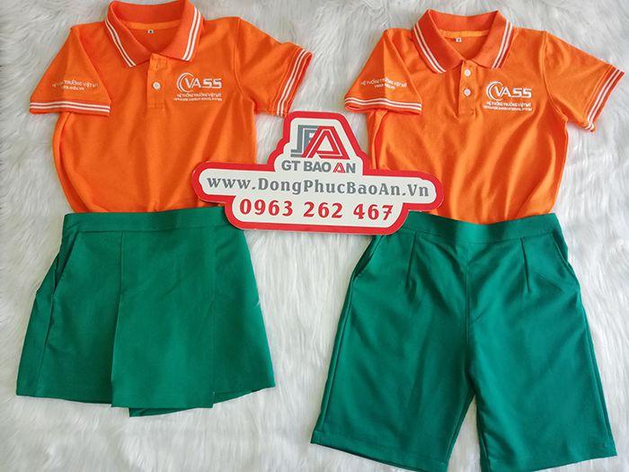 Đồng phục học sinh cao cấp hệ thống trường Việt Mỹ - VASS 01