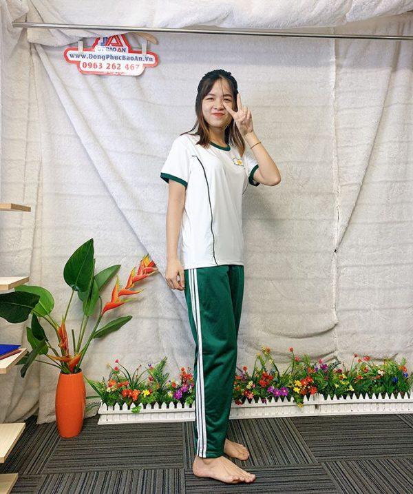 Đồng phục thể dục - Áo thun học sinh trường Nguyễn Thái Bình 011