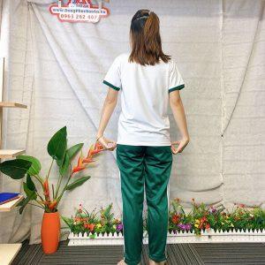Đồng phục thể dục - Áo thun học sinh trường Nguyễn Thái Bình 012