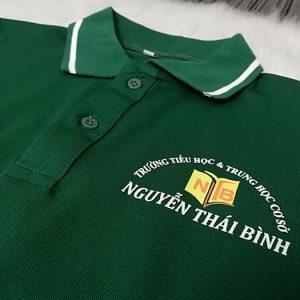 Đồng phục thể dục - Áo thun học sinh trường Nguyễn Thái Bình 04