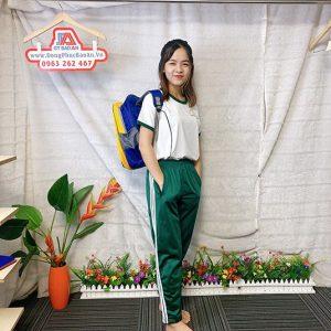 Đồng phục thể dục - Áo thun học sinh trường Nguyễn Thái Bình 05
