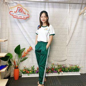 Đồng phục thể dục - Áo thun học sinh trường Nguyễn Thái Bình 06