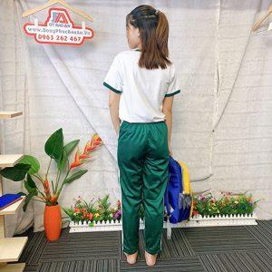 Đồng phục thể dục - Áo thun học sinh trường Nguyễn Thái Bình 07