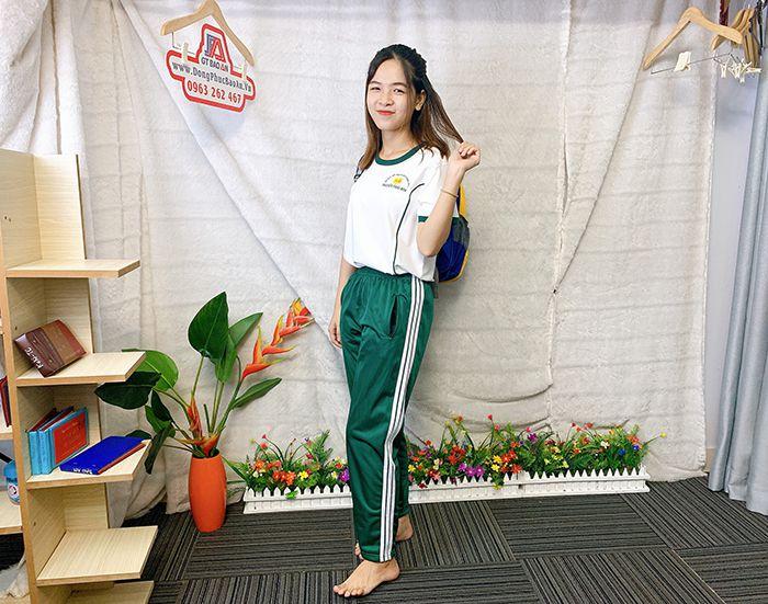 Đồng phục thể dục - Áo thun học sinh trường Nguyễn Thái Bình 08