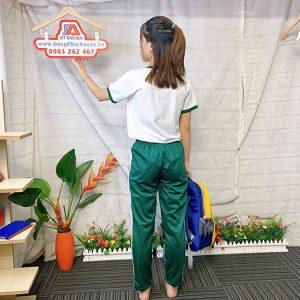 Đồng phục thể dục - Áo thun học sinh trường Nguyễn Thái Bình 09