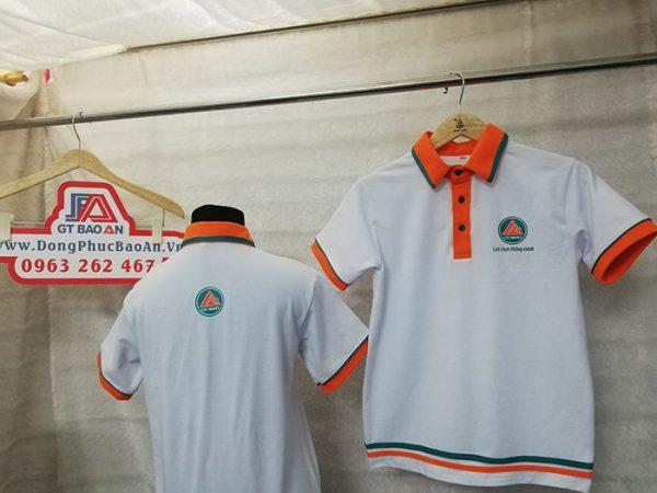May áo thun cổ trụ đồng phục siêu thị CIC MART 04