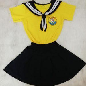 May đồng phục trường mầm non mẫu giáo - ĐÔRÊMON 05