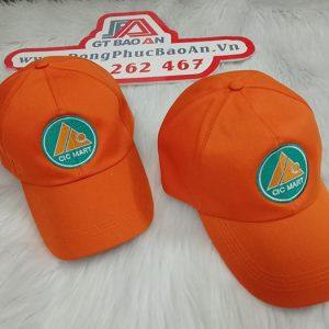 May nón kết đồng phục siêu thị CIC MART 02