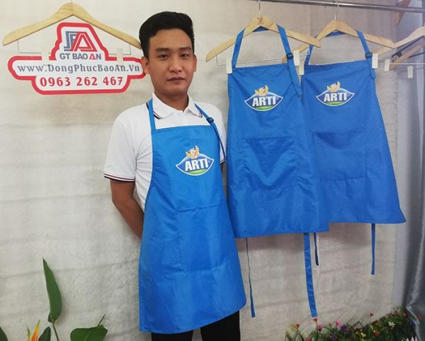 May tạp dề nhà hàng hải sản cao cấp - ARTI 01