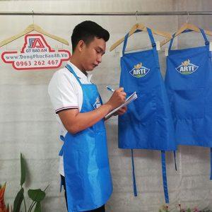 May tạp dề nhà hàng hải sản cao cấp - ARTI 02