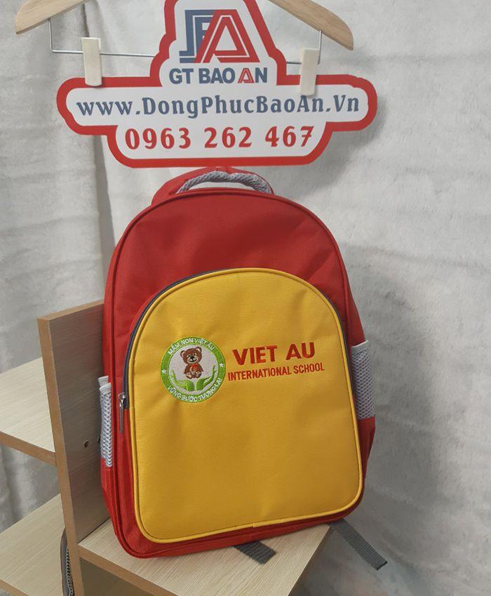 Xưởng may balo mầm non trường Việt Âu uy tín 01