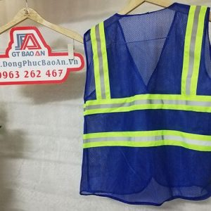 Áo gile kỹ sư - Áo phản quang lưới màu bích mã M5