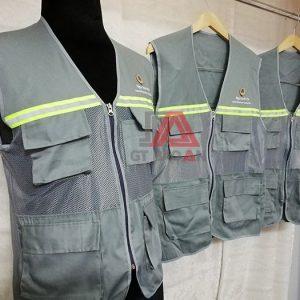 Áo bảo hộ phản quang - Áo gile kỹ sư phản quang - Ngọc Linh Vy 03