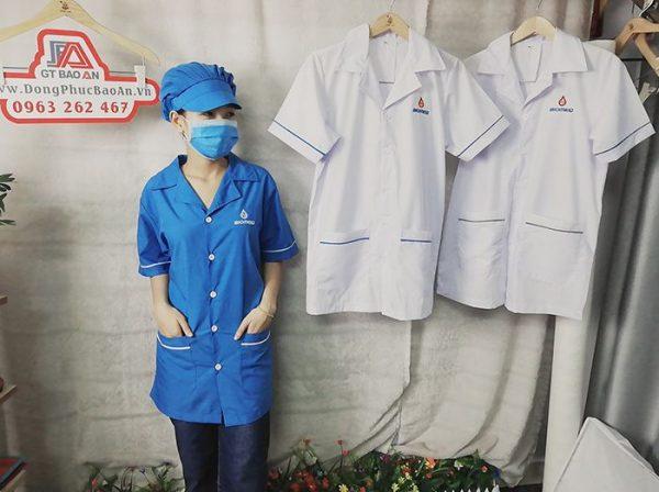 Áo blouse bác sĩ - Áo phẫu thuật loại đẹp 01